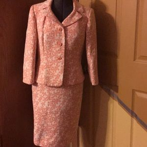 leSuit peaches and cream retro 70 floral size 4p